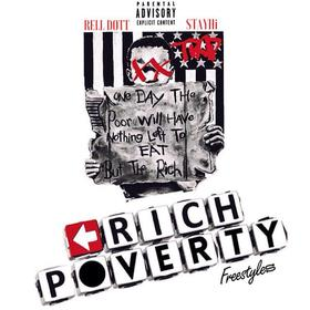 Rich Poverty Freestyles Rell Dott front cover
