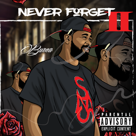 Never Forget II Burna front cover