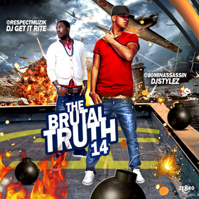 The Brutal Truth 14 Various Artists front cover