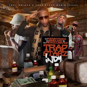 Trap Starz Indy DJ Kenny Mac   front cover