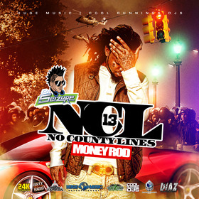 No County Lines vol. 13 Hosted by Money Rod DJ Seizure front cover