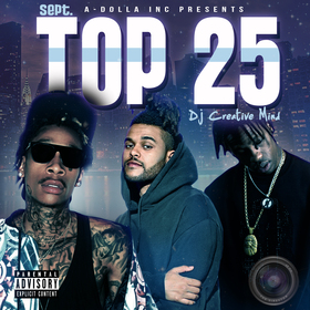 Top 25 By Creative Mind (September Playlist) Dj Creative Mind front cover