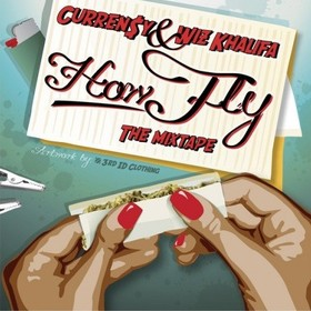 How Fly (The Mixtape) Curren$y front cover