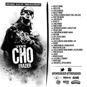 Smokin' Cho Frazier Cho Chaser front cover