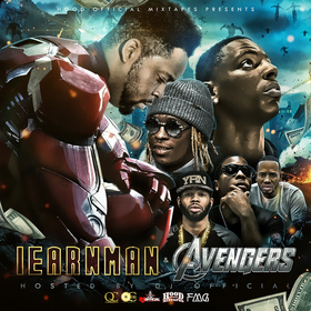 Iearnman and The Avengers DJ Official front cover