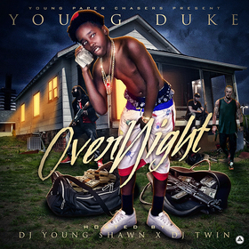 Over Night EP Young Duke front cover