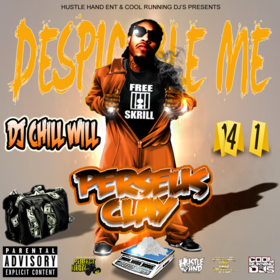 Perseus Clay Despicable Me CHILL iGRIND WILL front cover