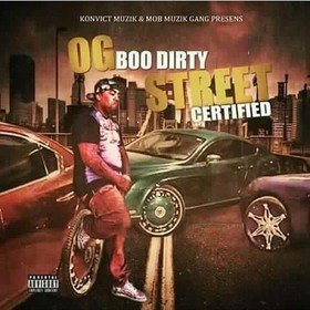 Street Certified OG Boo Dirty front cover
