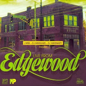 Live From Edgewood DJ Mike Mars front cover