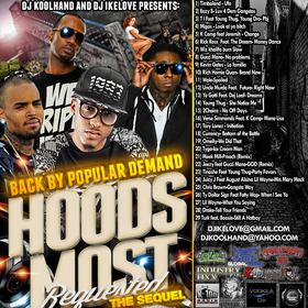 Hoods Most Requested The Sequel Various Artists front cover