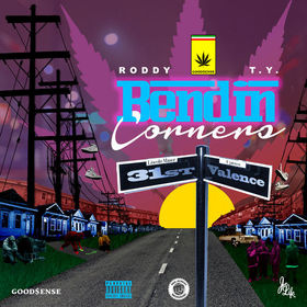 Bendin Corners Young Roddy front cover