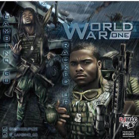 KZE Tha Mob Presents: World War One (Hosted By: Dj Mac The Plug) DJ B Eazy front cover