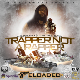 Trapper Not A Rapper Hollywood Evans front cover