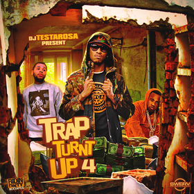 Trap Turnt Up 4 DJ Testarosa front cover