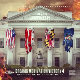 DMV4: Dreams, Motivation, Victory 4 JD The Junior front cover