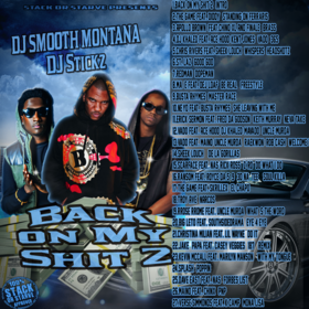 Back On My Shit 2 DJ Smooth Montana front cover