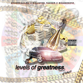 Levels Of Greatness Real DJR3 front cover