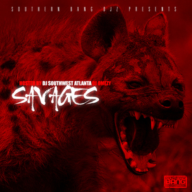 savages DJ Southwest Atlanta front cover