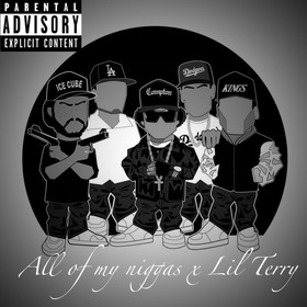 All Of My Niggaz Ft. Lil Terry YB front cover