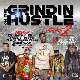 Grindin On The Hustle Vol. 2 DJ Papito front cover