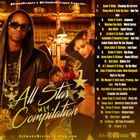 All Star Compilation 19 DJ Smoke front cover