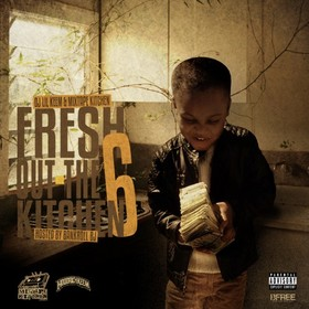 Fresh Out The Kitchen 6 (Hosted By Bankroll PJ) Mixtape Kitchen front cover
