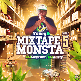 Mixtape Monsta Vol. 5 Young D front cover