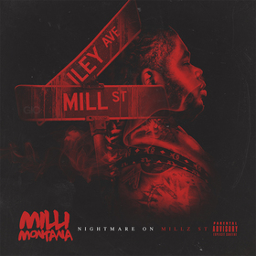 Nightmare On Millz St. Milli Montana front cover