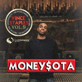 MoneySota 9 (Hosted By Vince Staples) Mr. Peter Parker front cover