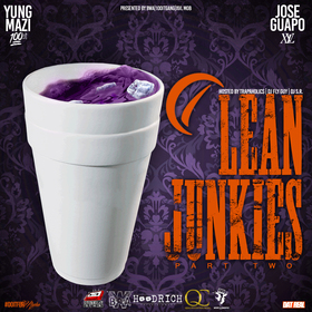 Lean Junkies Pt. 2 Yung Mazi front cover