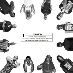 """Thraxxx """"The Movie"""" ThraxxxGang front cover"""
