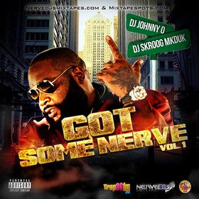 DJ Johnny O & DJ Skroog Mkduk - Got Some Nerve Vol. 1 Skroog Mkduk front cover