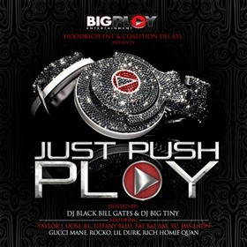 Just Push Play Black Bill Gates front cover