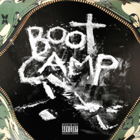 8thagreat n YungRega - Boot Camp DJ Wats front cover