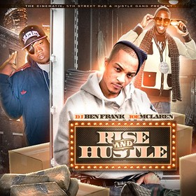 Rise And Hustle DJ Ben Frank front cover