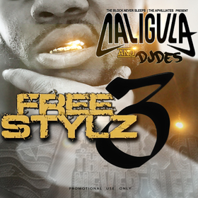 Caligula Freestyle 3 Various Artists front cover