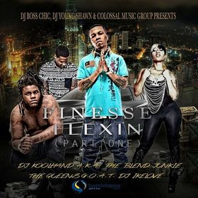 FINESSE FLEXXIN Colossal Music Group front cover