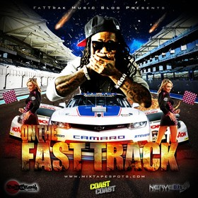 Fattrak Music Blog - On The Fast Track Vol. 1 Skroog Mkduk front cover