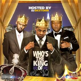 Who's The King Of New York DJ BkStorm front cover