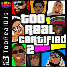 Too Real Certified 2 DJ Tati front cover
