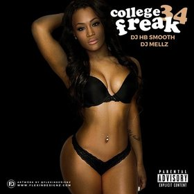 College Freak 34 Various Artists front cover