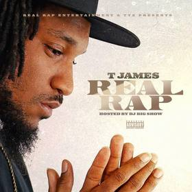 Real Rap T James front cover