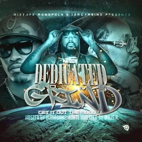 Dedicated To My Grind 5 DJ S.R. front cover