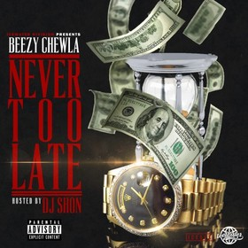 Never Too Late Beezy Chewla front cover
