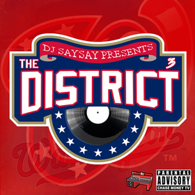 The District 3 DJ SaySay front cover