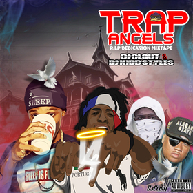 Trap Angels DjClout front cover
