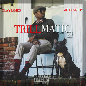Trillmatic EP Clay James front cover
