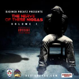 The Nerve Of These N!gg*s Volume 1 #Rap DJ Cinco P Beatz front cover