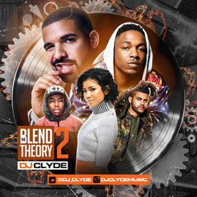 The Blend Theory 2 DJ Clyde front cover