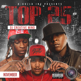 Top 25 By Creative Mind (November Playlist) Dj Creative Mind front cover